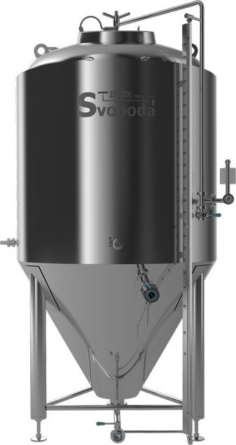 Beer fermentation - Cylindrical conical tank